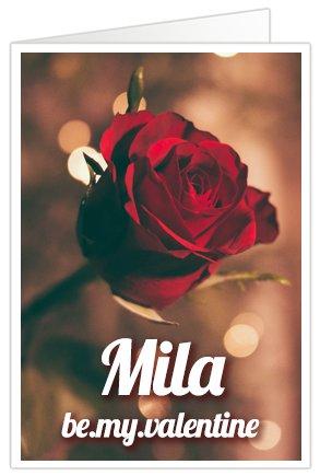 XL Kaart Valentijnsliedje